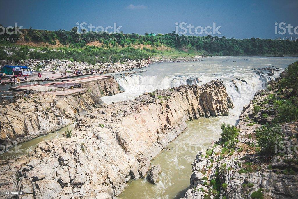 Bhedaghat in Jabalpur, State of Madhya Pradesh, India stock photo