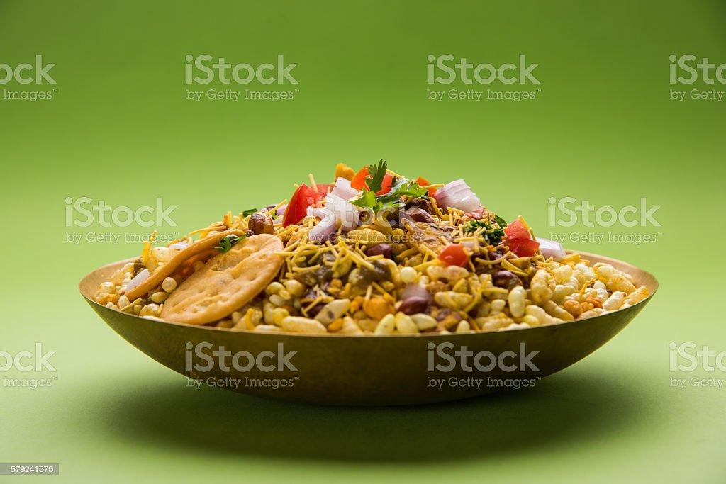 Bhel or Bhelpuri, Chat item, India stock photo