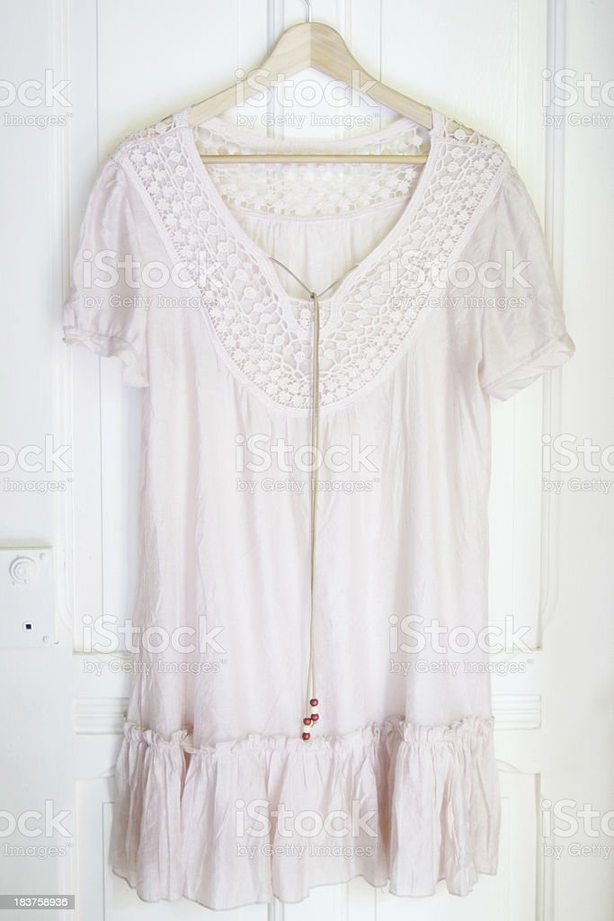 Bhoemian style blouse stock photo