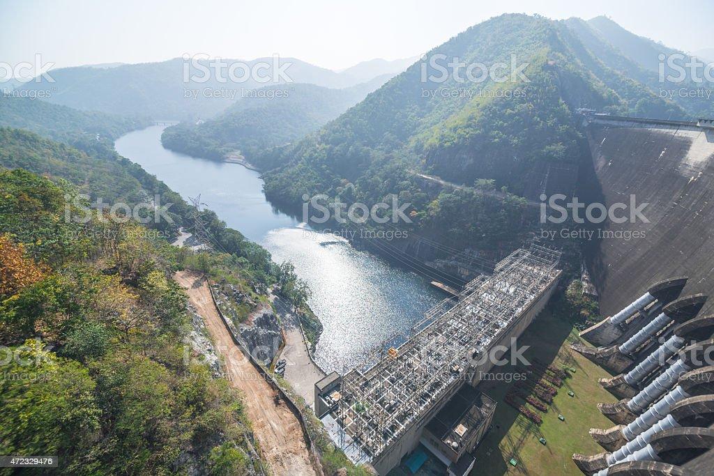 Bhumiphol dam, Tak, Thailand stock photo