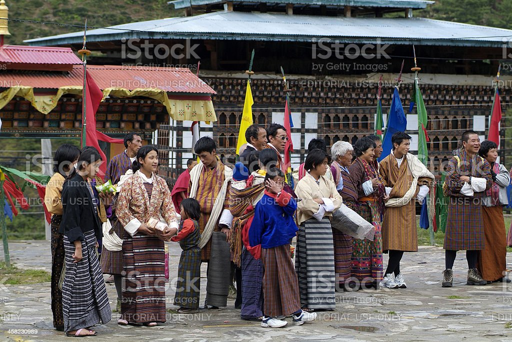 Bhutan, Haa, royalty-free stock photo