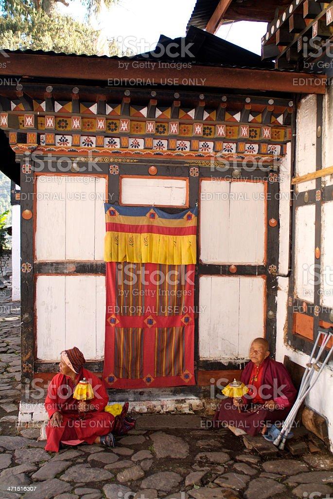 Bhutan, People royalty-free stock photo