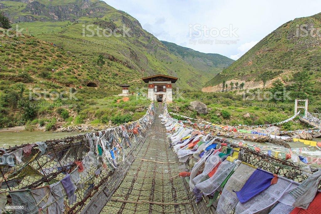 Bhutan stock photo