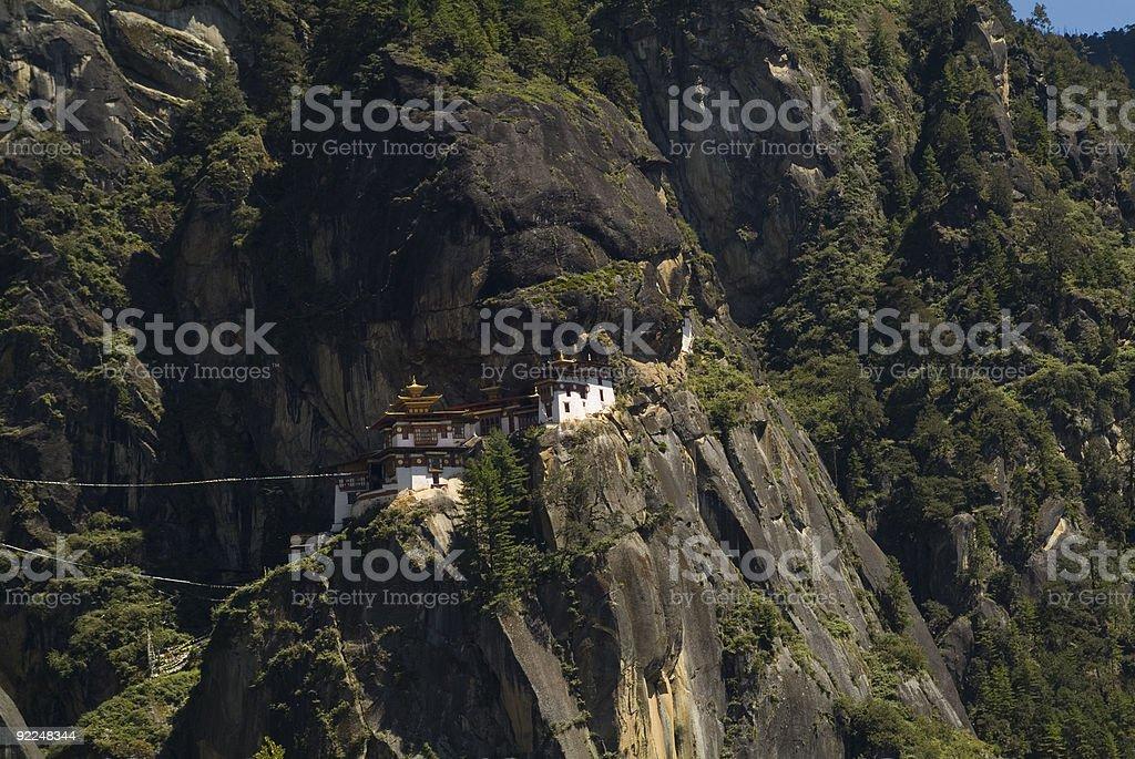 Bhutan, Taktsang Monastery royalty-free stock photo
