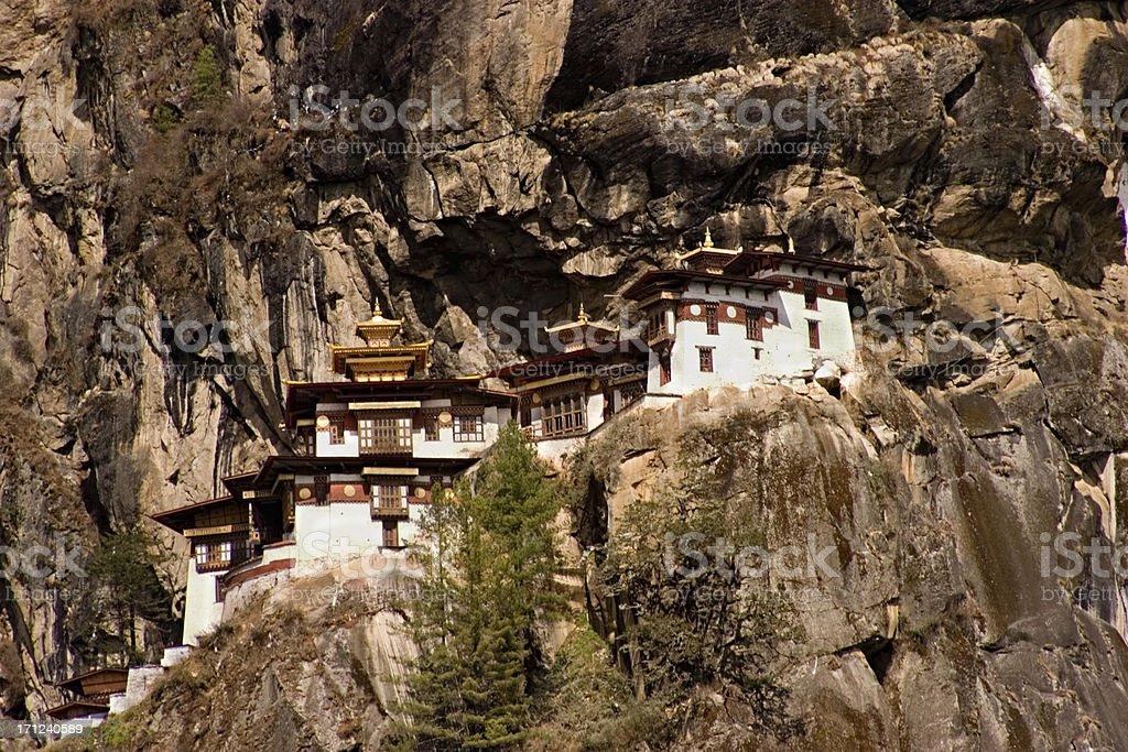 Bhutan - Tigers Nest Monastery royalty-free stock photo