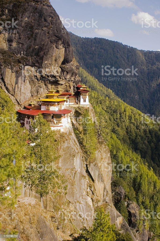 Bhutan: Tigers Nest Monastery stock photo