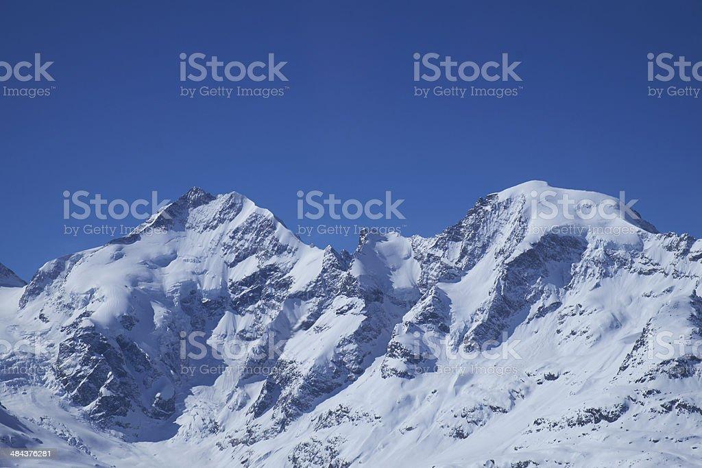 Bianco ridge stock photo