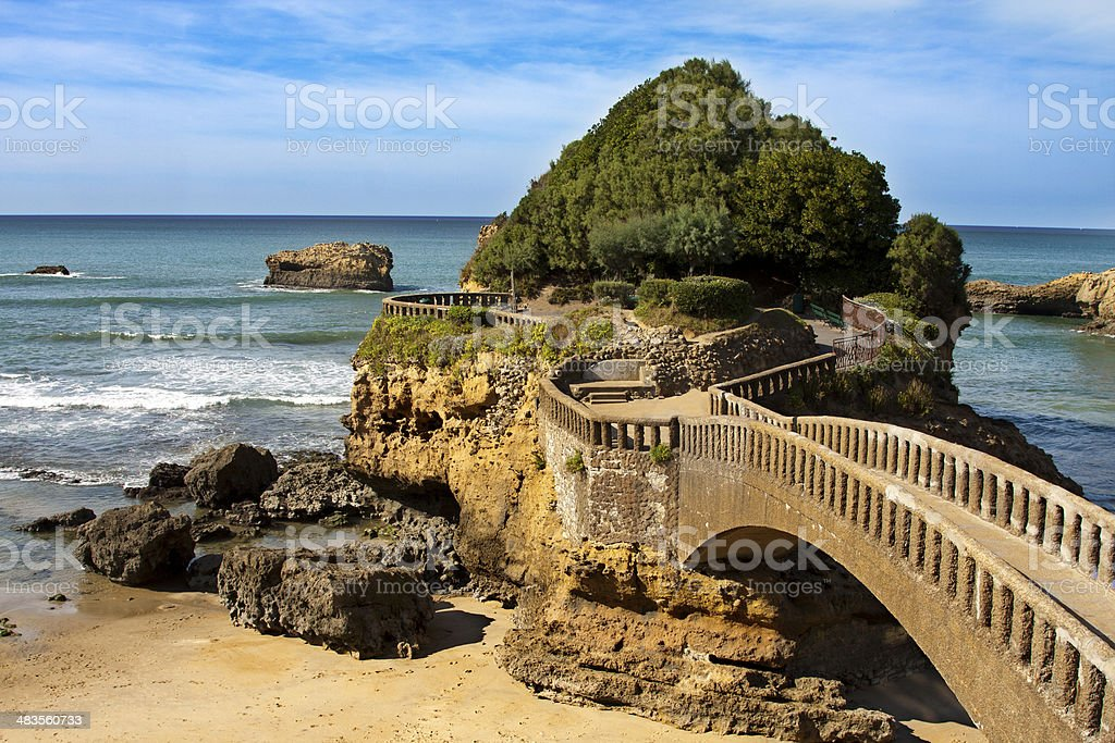 Biarritz, France stock photo