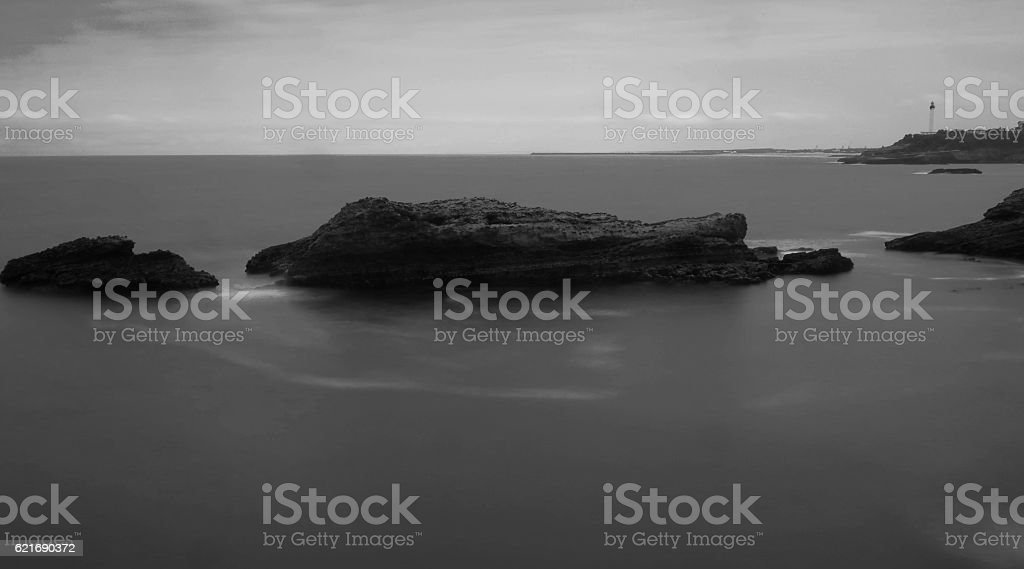 Biarritz France stock photo