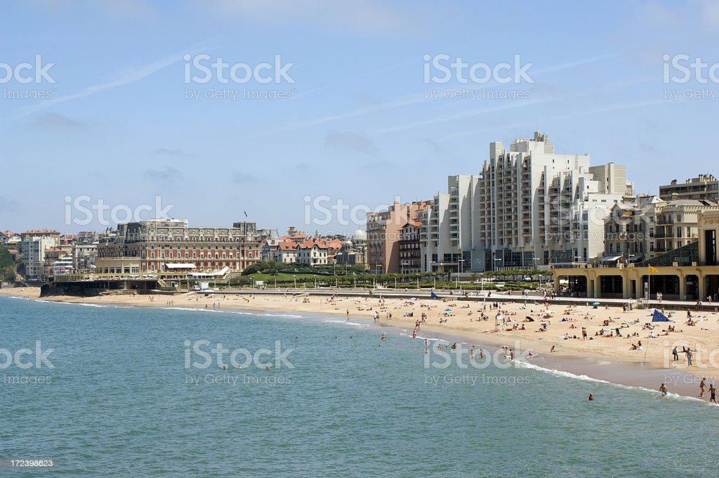 Biarritz royalty-free stock photo