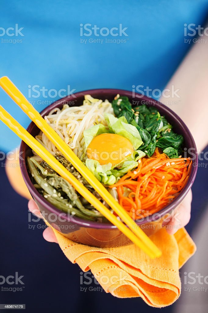 Bibimbap royalty-free stock photo