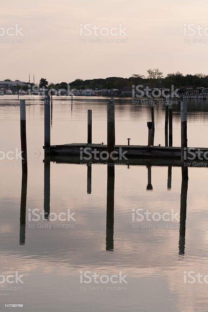 Bibione lagoon royalty-free stock photo