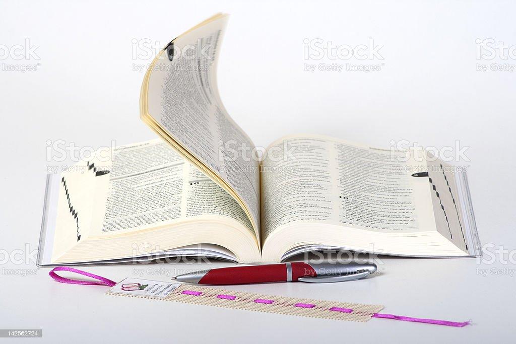 Bible book Sagrad royalty-free stock photo