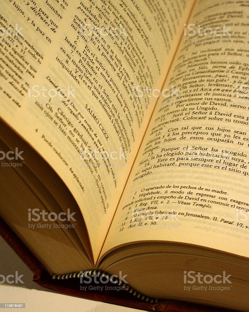 Bible horizontal stock photo