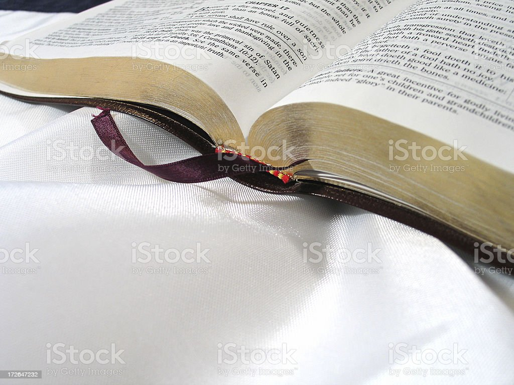 Bible (KJV) stock photo