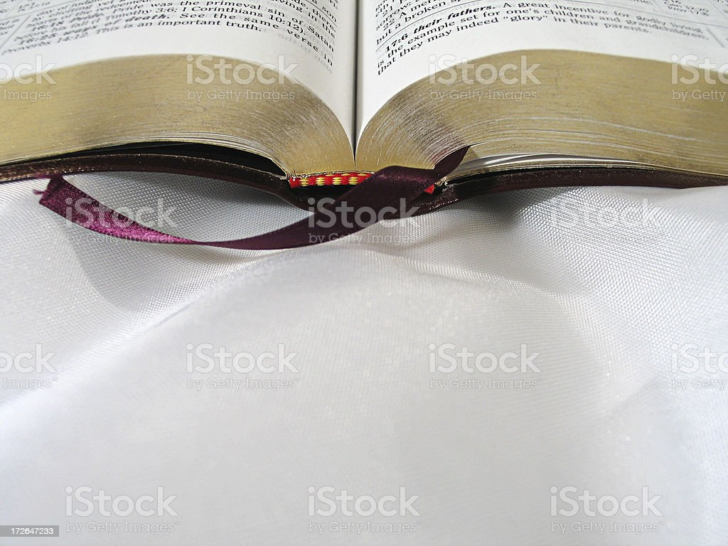 Bible (KJV) royalty-free stock photo