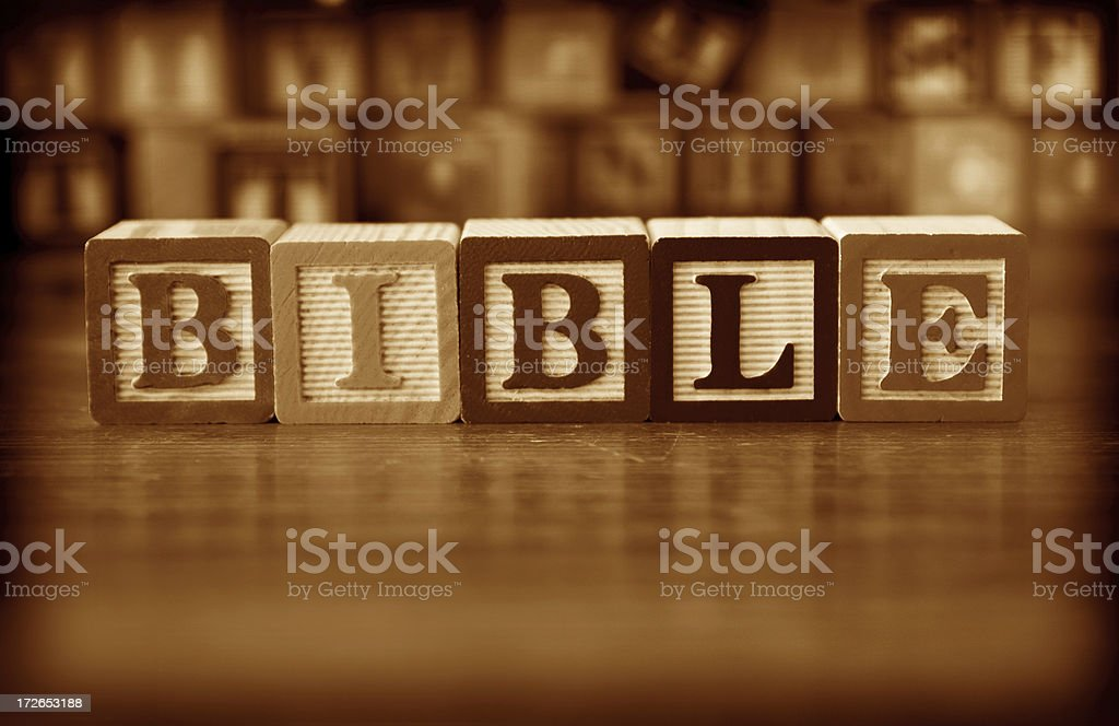 Bible (#10 of series) royalty-free stock photo