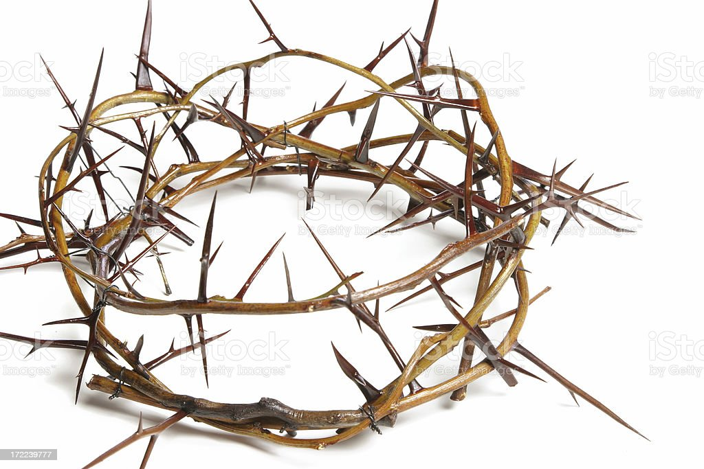 Bible Series Crown of Thorns stock photo