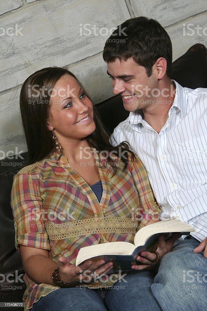 Bible Study royalty-free stock photo