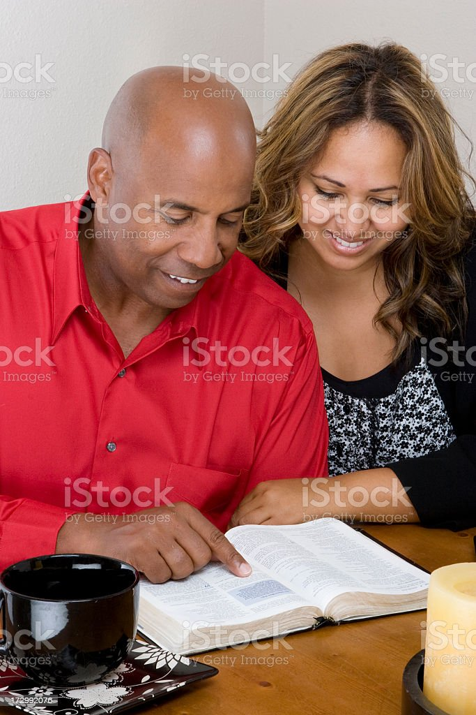 Bible study royalty-free stock photo