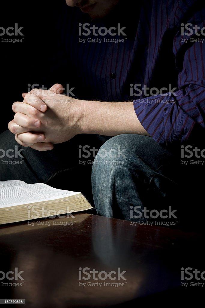 Bible Study stock photo