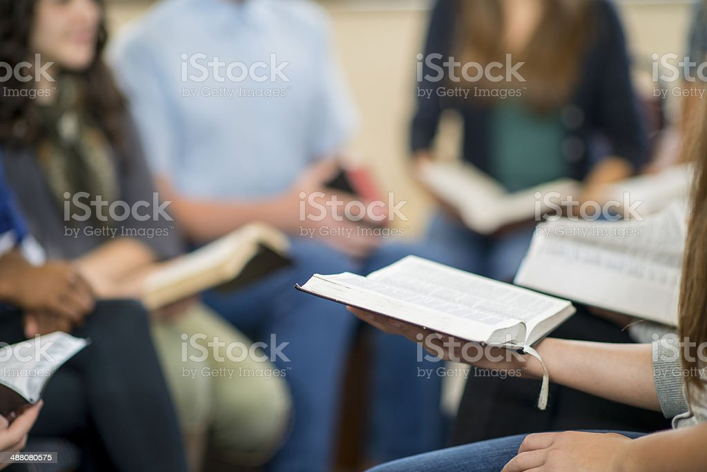 Bible Study stock photo