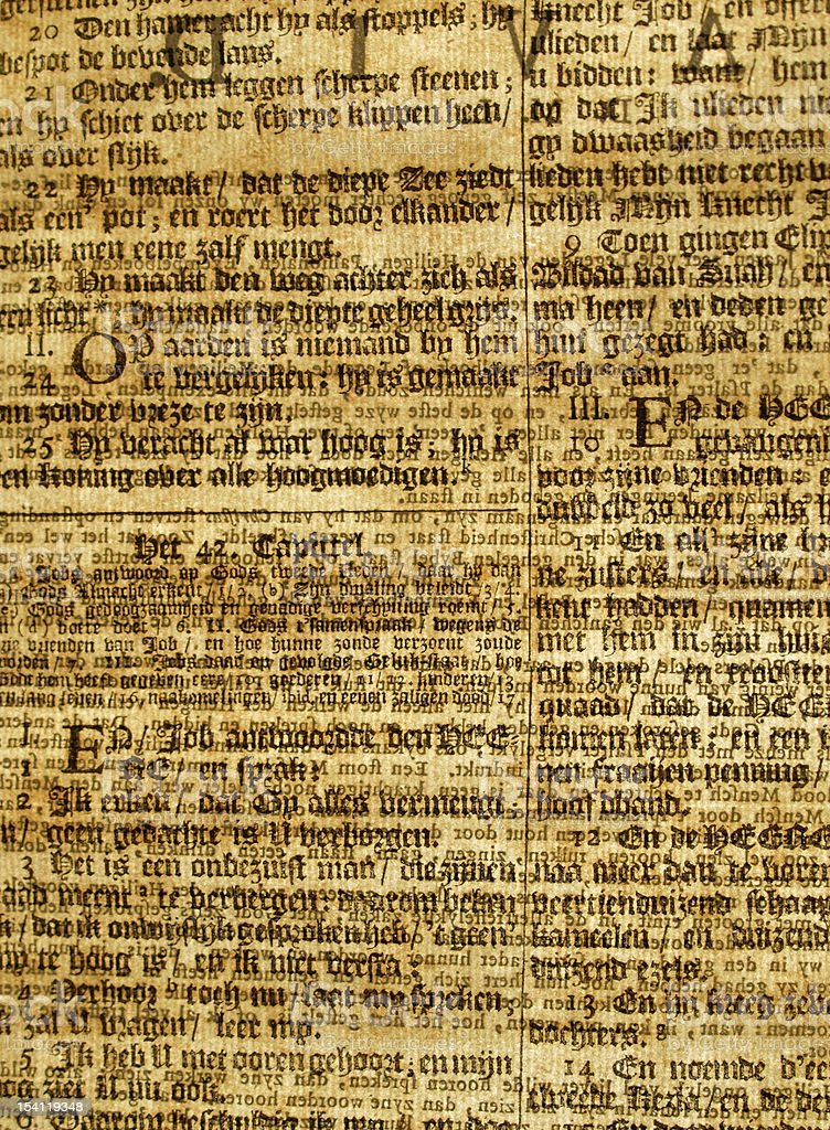 Bible text background royalty-free stock photo