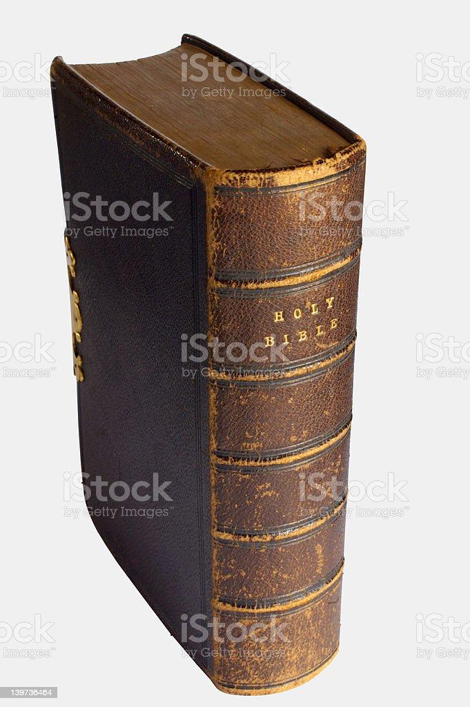 Bible – well used stock photo