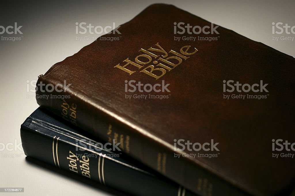 Bibles royalty-free stock photo