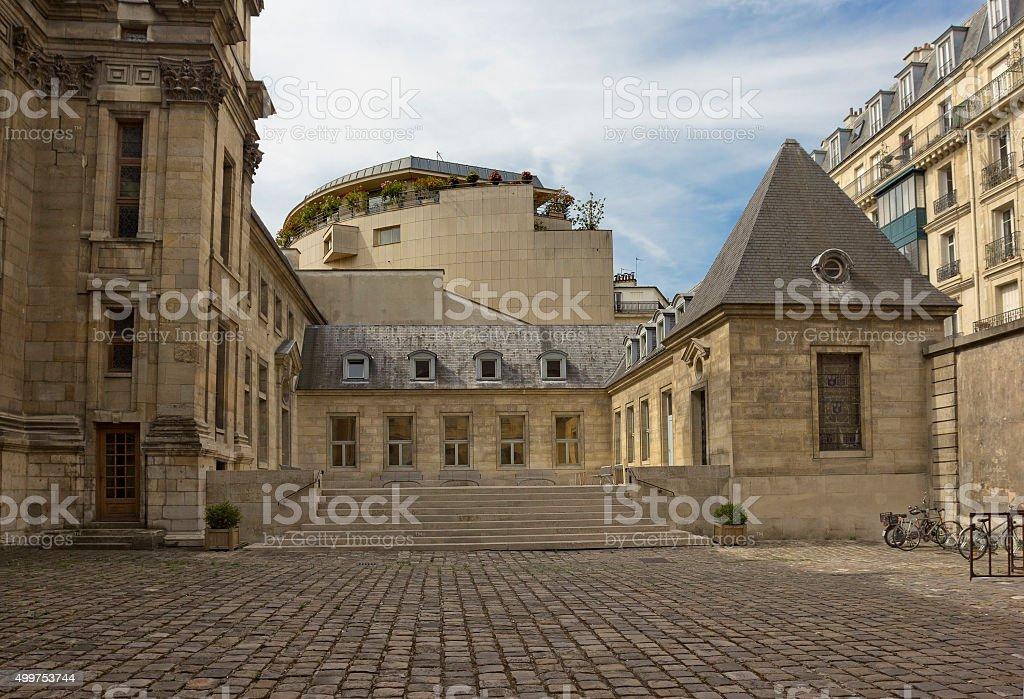 Bibliotheque historique de la ville de Paris in Paris, France stock photo