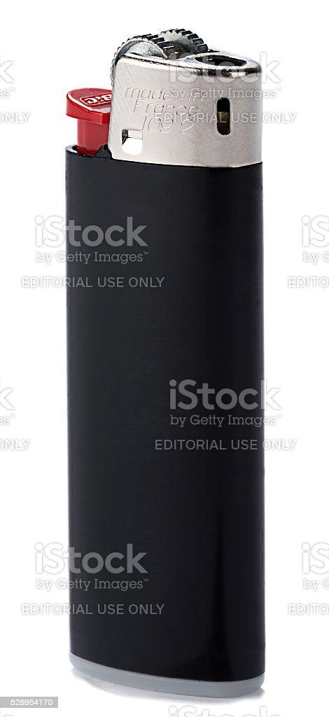Bic Cigarette Lighter stock photo