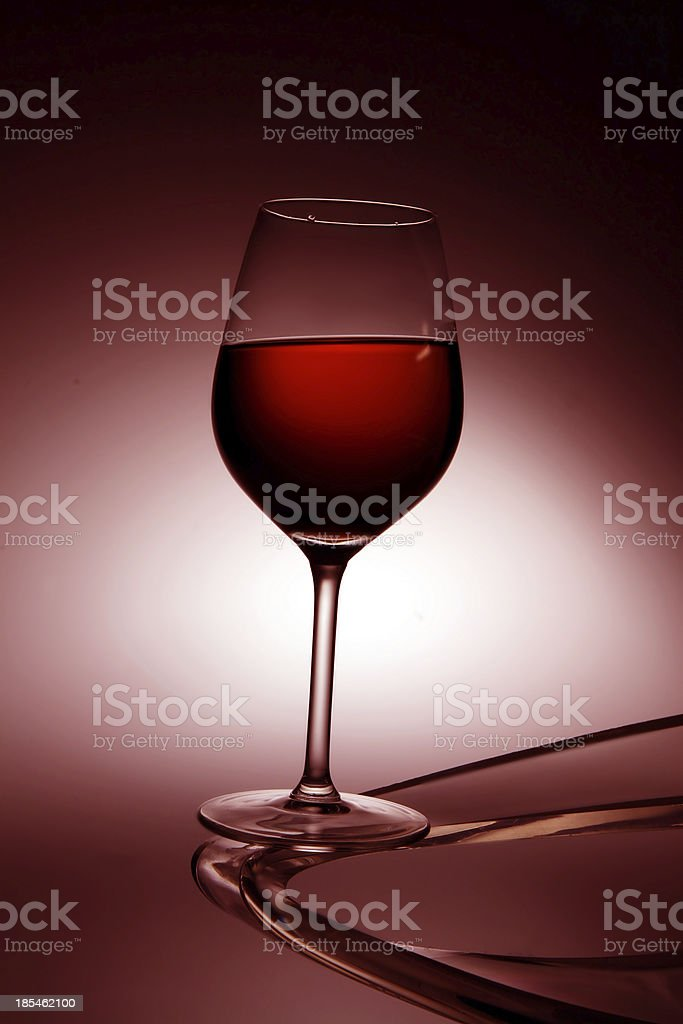 bicchiere stock photo