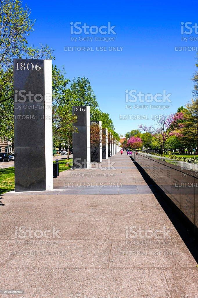 Bicentennial Capitol Mall State Park in Nashville, TN stock photo