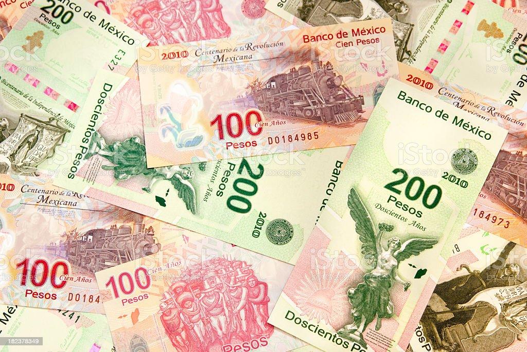 Bicentennial Pesos stock photo