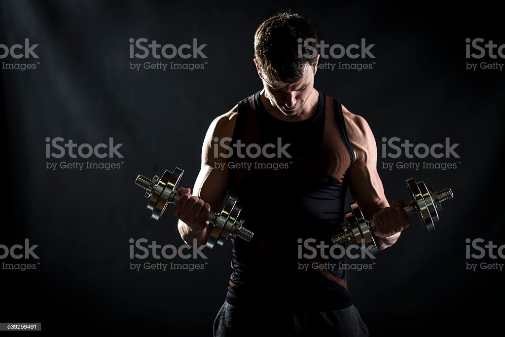 Biceps Curl stock photo