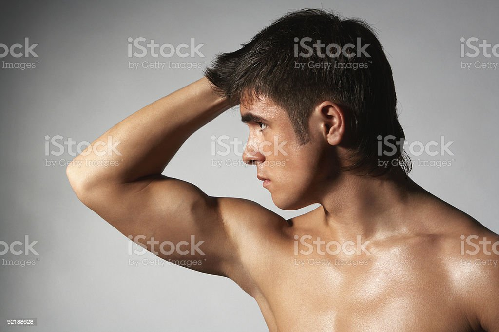 biceps royalty-free stock photo