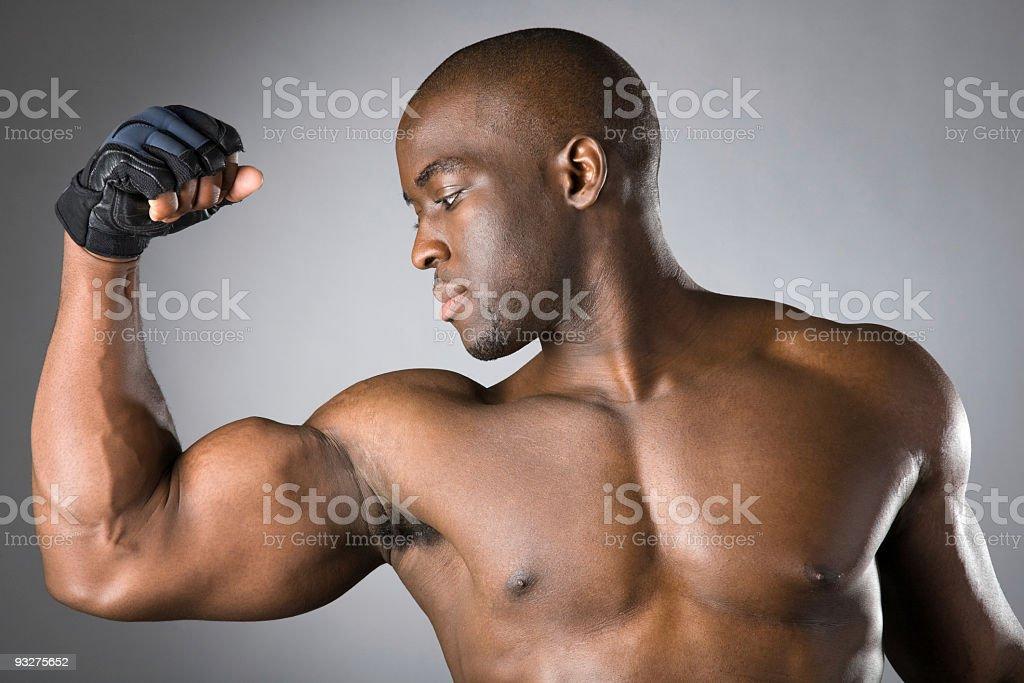 Biceps royalty-free stock photo