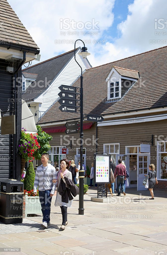 Bicester Village Shopping Centre... royalty-free stock photo