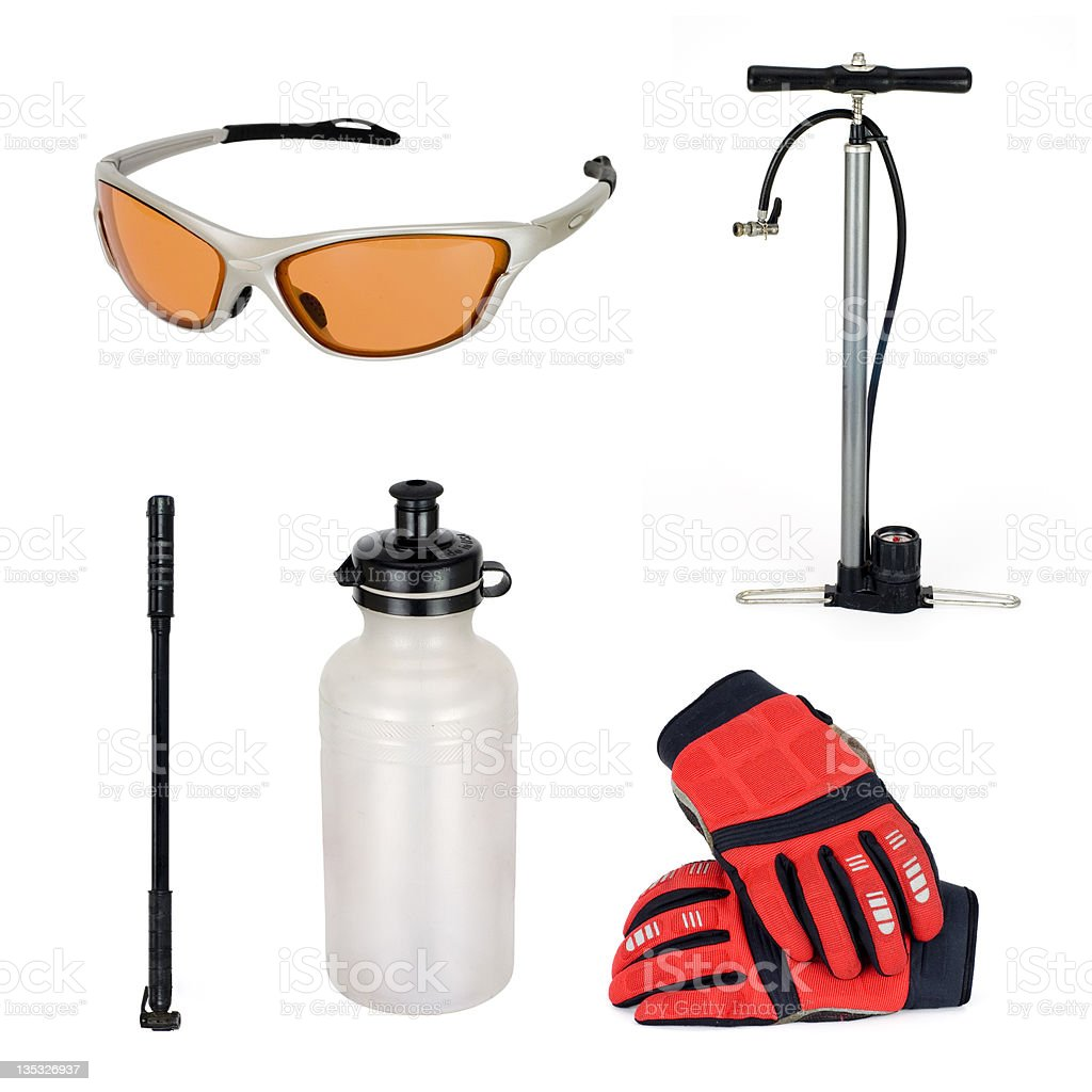 Bicycle Accessories stock photo
