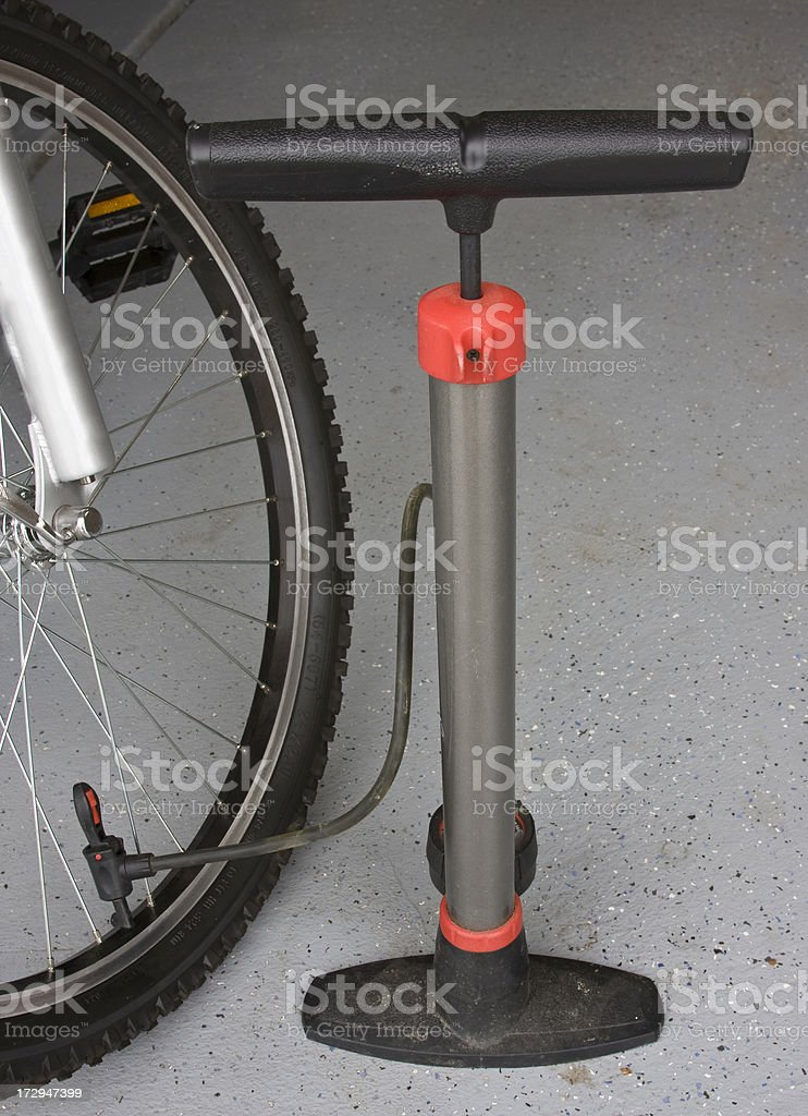 Bicycle Air pump royalty-free stock photo