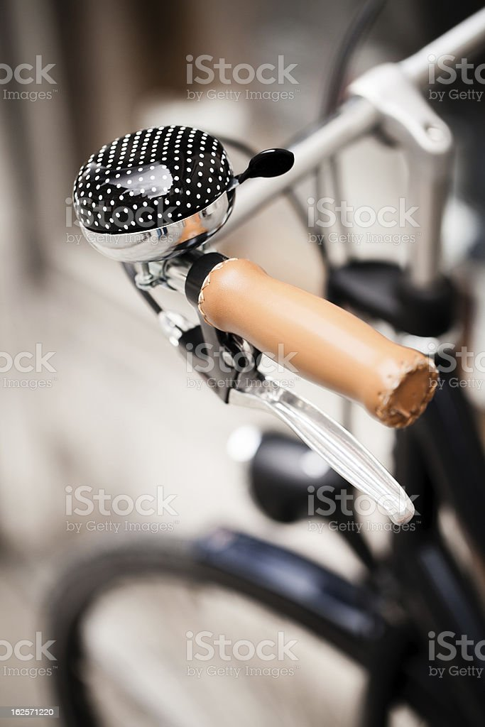 Bicycle bell. stock photo