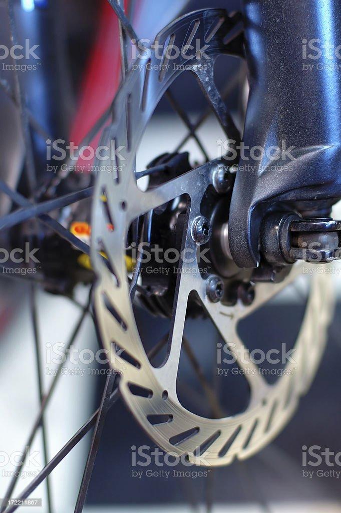 bicycle brakes royalty-free stock photo