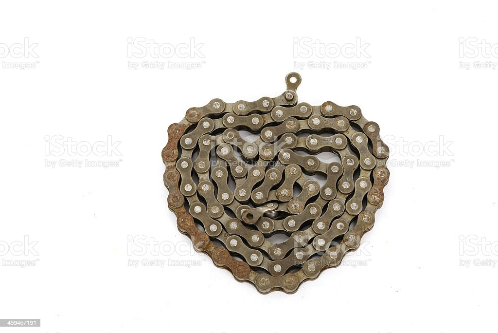 Bicycle chain background. stock photo