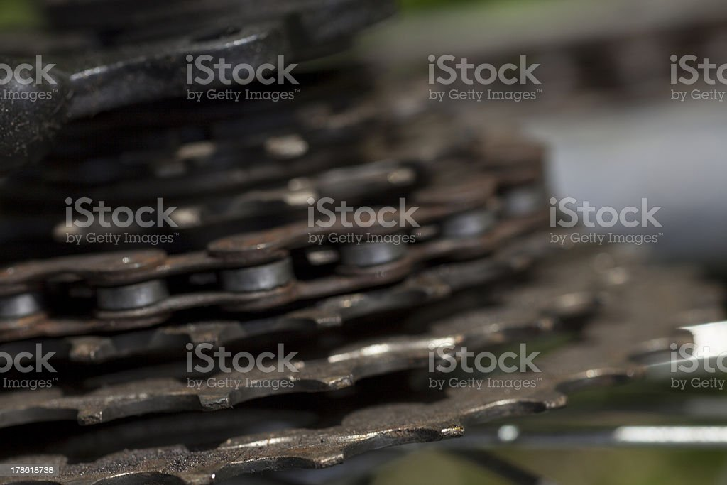Bicycle Chain royalty-free stock photo