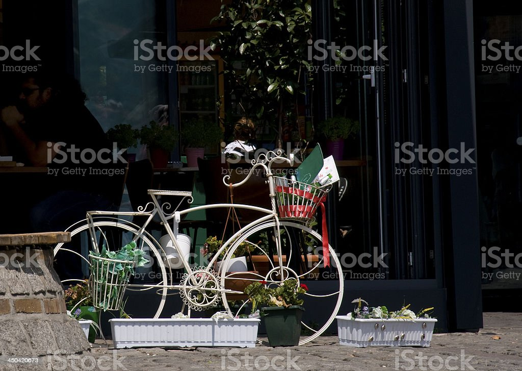 Bicycle Decoration stock photo