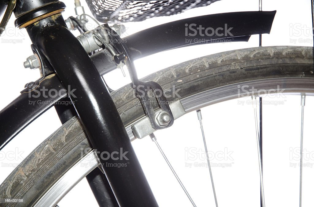 bicycle detail royalty-free stock photo