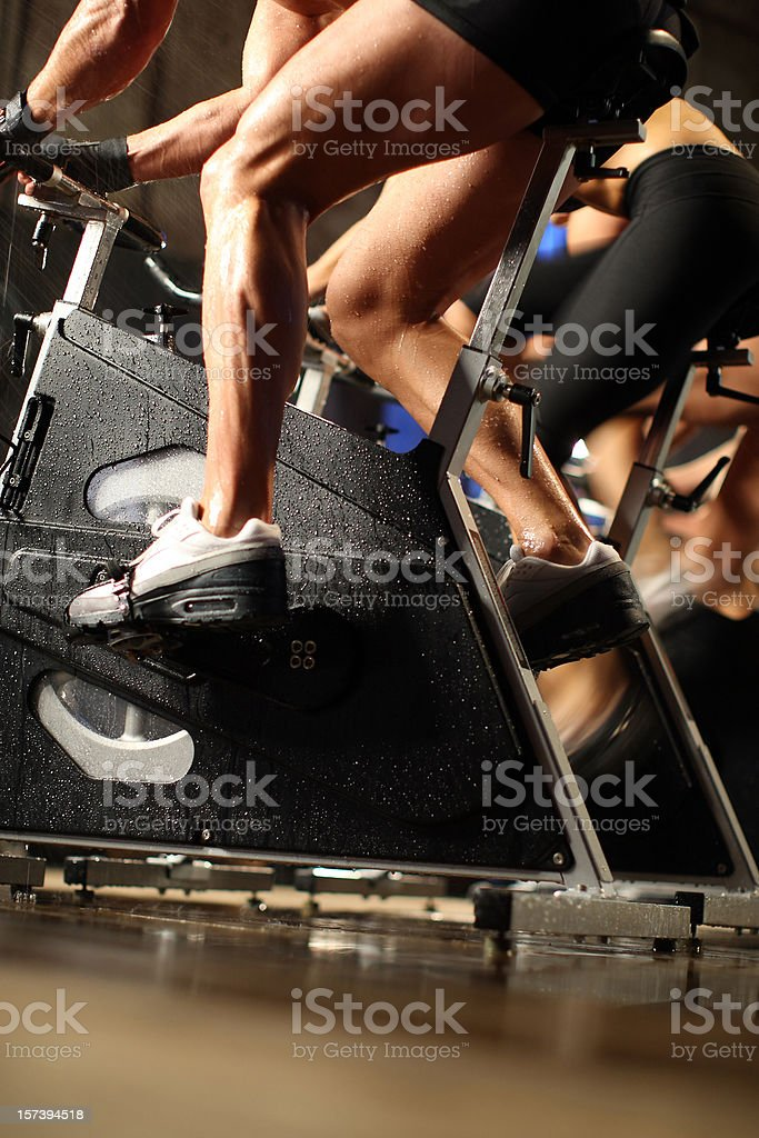 bicycle fitness royalty-free stock photo