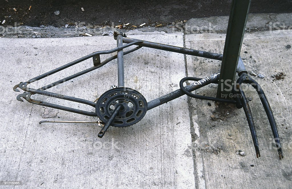 Bicycle Frame stock photo