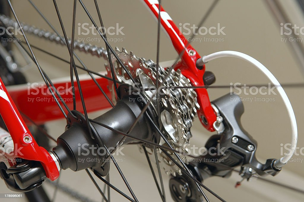 Bicycle Gear Systems royalty-free stock photo