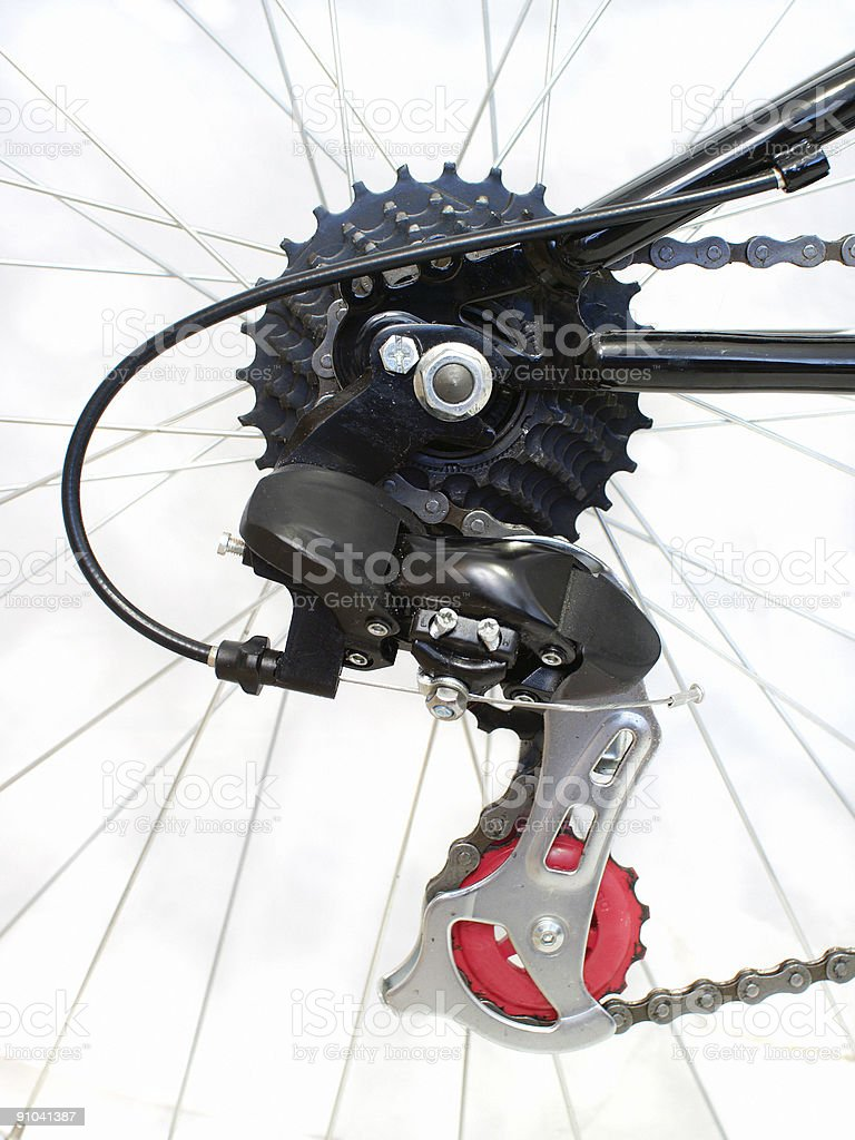 Bicycle Gears Detail royalty-free stock photo